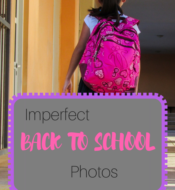 Imperfect back to school photos
