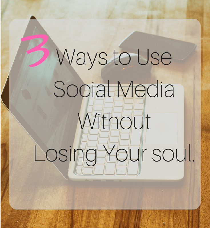 3 ways to use social media and stay sane.