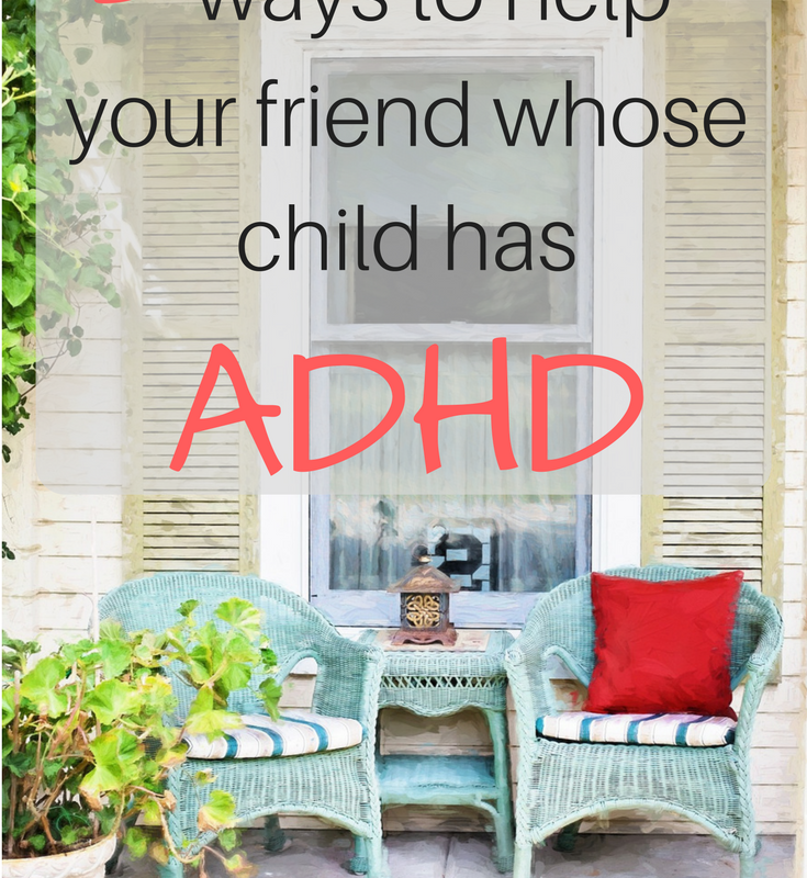 Supporting families of children with ADHD.