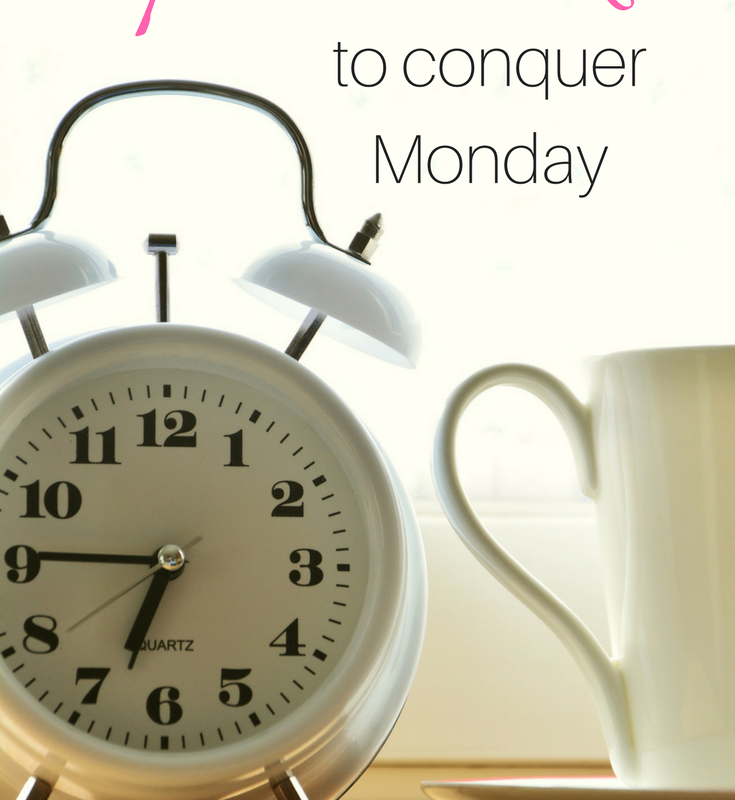 Productivity tips, tricks and hacks for a great Monday.